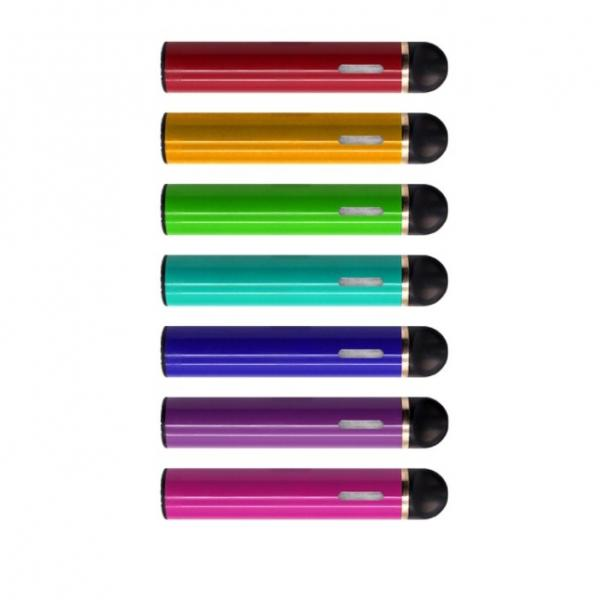 Disposable vape pen CRC smell proof container pop top tube ccell cartridge plastic tube atomizer #2 image
