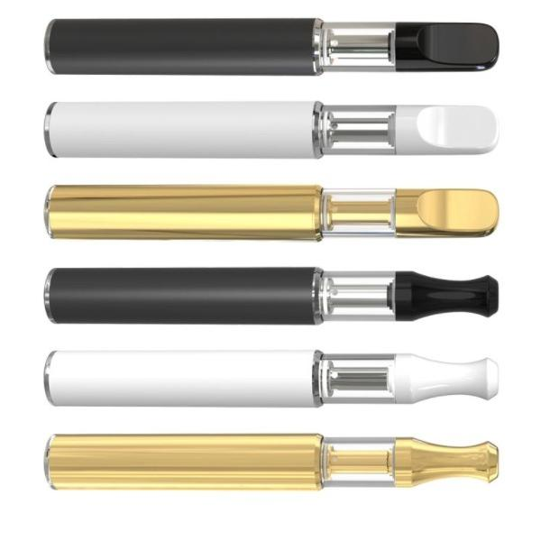 disposable vape pen 2018 new products no button disposable thick oil vape pen e cig kits from China #1 image
